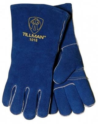 Tillman 1018 Blue Welding Gloves