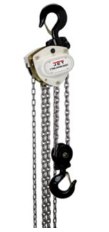 Jet 103220 3-Ton Hand Chain Hoist With 20 Foot Lift