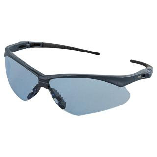 Jackson Safety Nemesis Blue Safety Glasses with Light Blue Lenses