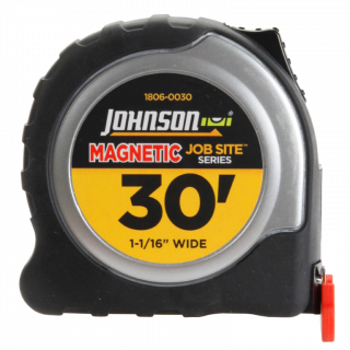 Johnson Level Job Site Magnetic Power Tape