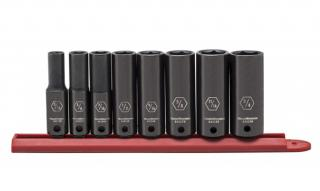 Gearwrench 6 Point Deep Impact SAE Socket Set