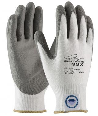 Great White 19-D322 Polyurethane Grip Gloves with Dyneema - Single Pair