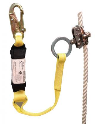 Elk River 19273 Rope Grab with Zorber Web Lanyard