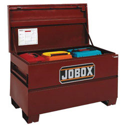 Jobox 653990 On-Site Steel Construction Storage Chest