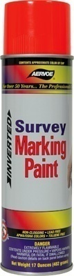 Aervoe Survey Marking Paint- Aerosol