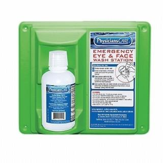 Pac-Kit Eye Wash Station - Single 16 oz.