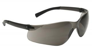 Bouton Zenon Z13 Safety Glasses with Gray Lens and Gray Temple - 12 Pairs