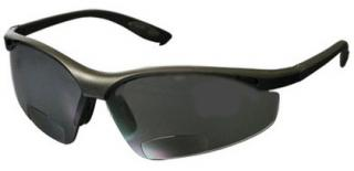 Bouton Mag Readers Safety Glasses with Gray Lens and Black Frame