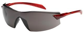 Bouton Radar Safety Glasses with Gray Lens and Red Temple