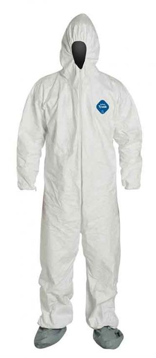 DuPont Tyvek Coverall Paint Suit with Boots