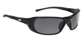 Bolle Shadow Safety Glasses with Smoke Lens and Black Frame