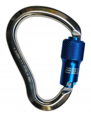 7435 WestFall Pro 4-3/4 x 3in. Aluminum Carabiner 9/10in.Gate