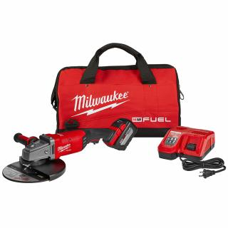 Milwaukee M18 7 - 9 Inch Large Angle Grinder Kit