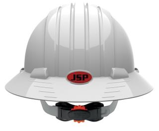 JSP 6161V Evolution Deluxe Full Brim Vented Hard Hat
