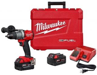 Milwaukee M18 FUEL 1/2 Inch Hammer Drill/Driver Kit