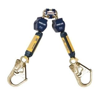 DBI Sala Nano-Lok Twin-Leg Quick Connect SRL with Rebar Hooks
