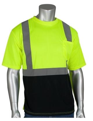 PIP ANSI Class 2 Short Sleeve T-Shirt with UPF Protection