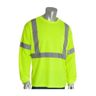 PIP ANSI Class 3 Hi-Visibility Long Sleeve T-Shirt