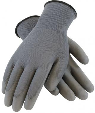 PIP Polyester Glove with Coated Grip - 12 Pairs