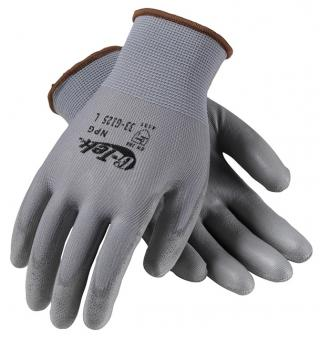 G-Tek 33-G125 Nylon Gloves With Polyurethane Grip Gloves (12 Pair)