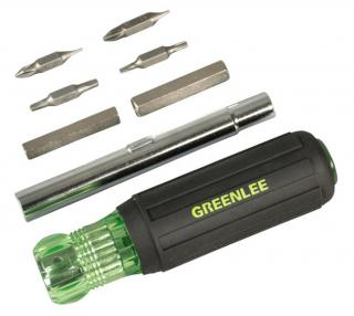 Greenlee Emerson 11-in-1 Multi-Functional Screwdriver and Nut Driver