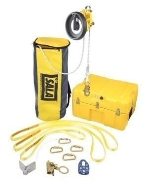 DBI Sala Rollgliss R550 Rescue and Descent Kit with Humidity Storage Case