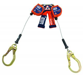 DBI Sala Nano-Lok Edge Twin Leg SRL with Steel Rebar Hooks