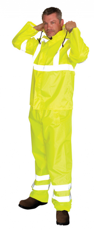 SafetyGear ANSI Class 3 Two-Piece Rain Suit