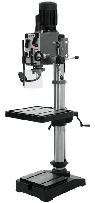Jet 20 Inch Gear Head Drill Press - 230V