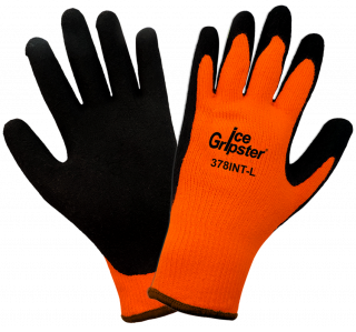 Ice Gripster Water Repellent Coated Cold Weather Gloves