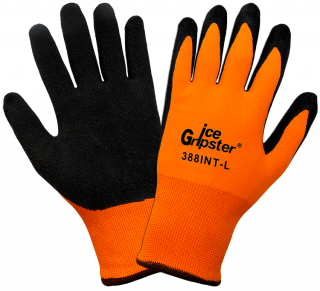Ice Gripster 388INT Water Repellent Coated Cold Weather Gloves (12 Pair)