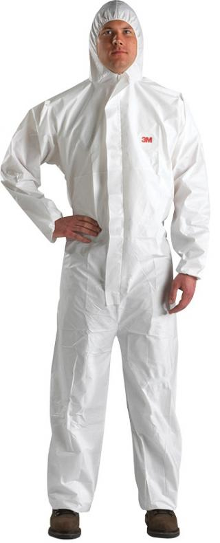 3M Disposable Protective Coverall Hooded Paint Suit