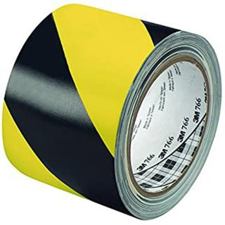 3M 766 Striped Vinyl Tape - 36 Yards
