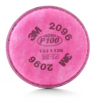 3M Particulate P100 Filter with Nuisance Level Acid Gas Relief - 2 Pack