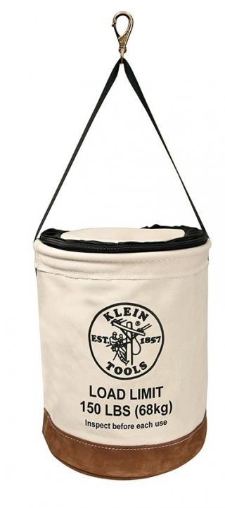 Klein Tools Heavy Duty Top Closing Canvas Bucket