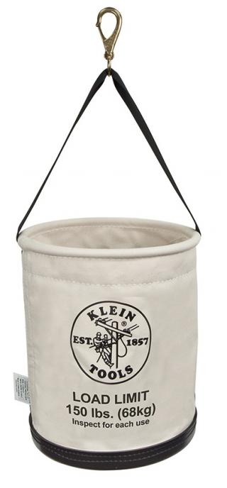 Klein Tools 5109SLR All Purpose Canvas Work Bucket