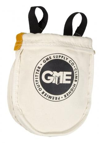 GME Supply Large Utility Canvas Pouch with Leather Bottom