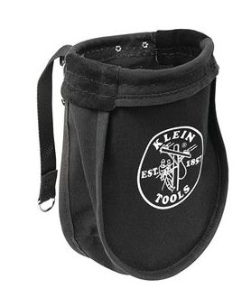 Klein Tools 51A Black Nut and Bolt Bag