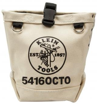 Klein Tools 5416OCTO Canvas Pouch with Connection Points