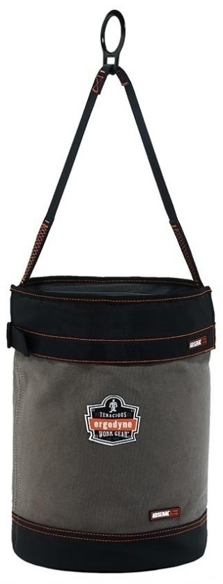 Ergodyne 5960 Arsenal Leather Bottom Canvas Bucket with D-Rings