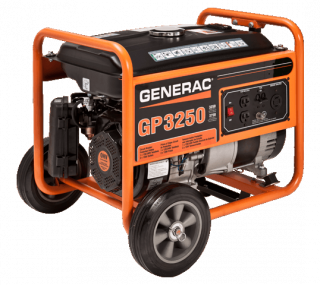 Generac GP Series 3250 Portable Generator