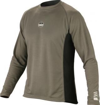 Ergodyne 6425 CORE Performance Work Wear Long Sleeve - Gray