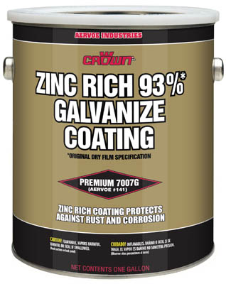 7007G Crown Cold Galvanizing Compound - 1 Gallon