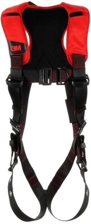 Protecta Comfort Vest-Style Climbing Harness with Mating, Pass-Thru, & Tongue Buckles
