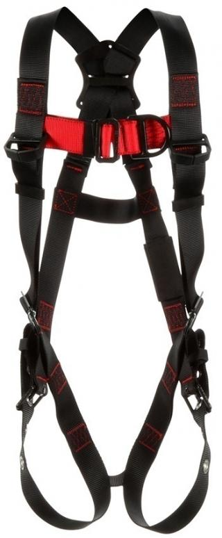 Protecta Vest-Style Climbing Harness with Mating, Pass-Thru, & Tongue Buckles