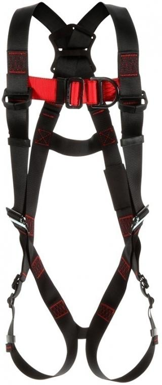 Protecta Vest-Style Climbing Harness with Mating & Pass-Thru Buckles