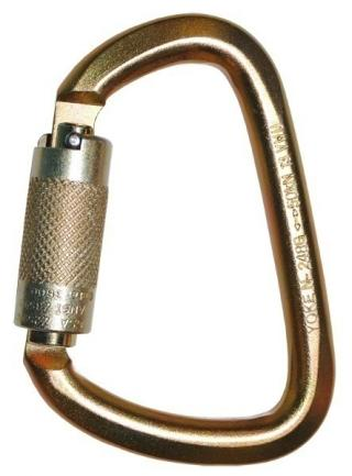 7401 WestFall Pro 4-7/8 X 3 in. Steel Carabiner 1 in. Gate