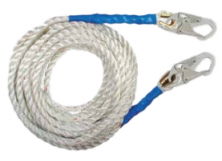 FallTech 8125DH Polyester Rope Lifeline