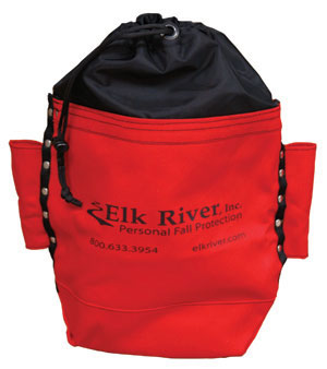 Elk River 84521 Canvas Bolt Bag with Drawstring and Belt Tunnel