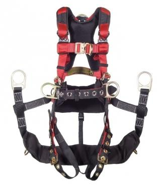 WestFall Pro 88010 Ascend Tower Climbing Harness - Steel